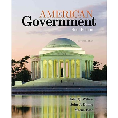 Cengage Learning® American Government Book, New Book