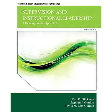 supervision and instructional leadership Coupon: rent supervision and instructional leadership a developmental  approach 9th edition (9780132852135) and save up to 80% on textbook rentals .