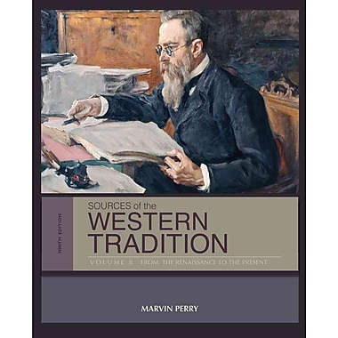 Cengage Learning® Sources of the Western Tradition: Volume II Book, New Book