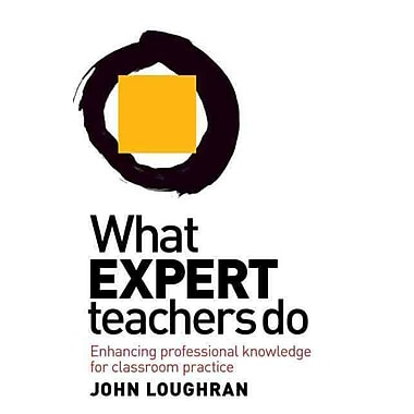 Taylor & Francis What Expert Teachers Do Book