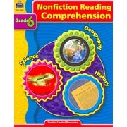 Teacher Created Resources Nonfiction Reading Comprehension Book