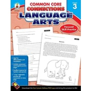 Carson Dellosa Common Core Connections Language Arts Workbook, Grades 3