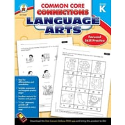 Carson Dellosa Common Core Connections Language Arts Workbook, Grades K
