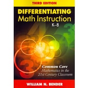 Corwin 3 Edition Differentiating Math Instruction Book, Grades K - 8