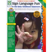 Carson Dellosa Sign Language Fun in the Early Childhood Classroom Resource Book