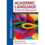 Corwin Academic Language in Diverse Classrooms: Mathematics Book, Grades 3 - 5