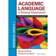 Corwin Academic Language in Diverse Classrooms: Mathematics Book, Grades K - 2