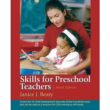 Pearson Skills for Preschool Teachers Book, New Book