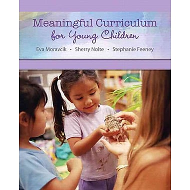 Pearson Meaningful Curriculum for Young Children With MyEducationLab Book, New Book
