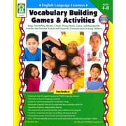 Carson Dellosa English Language Learners:Vocabulary Building Games & Activities Resource Book
