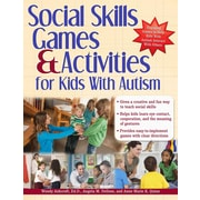 Sourcebooks Social Skills Games and Activities for Kids with Autism Book