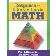 Corwin Response to Intervention in Math Book, Grades PreK - 12
