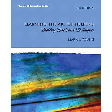 Pearson Learning the Art of Helping: Building Blocks and Book, 5th Edition, New Book