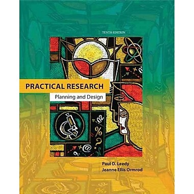 Pearson Practical Research: Planning and Design Book, New Book