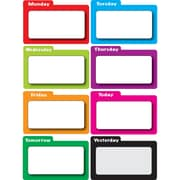 Ashley Color File Days of Week Time Organizer, 8/Pack