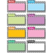 Ashley 8 1/2in. x 11in. File Days Of Week Magnetic Time Organizer, Black Chevron
