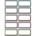 Ashley K - 12th Grade Die-Cut Magnet Name Plate, Black Chevron