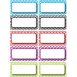 Ashley K - 12th Grade Die-Cut Magnet Name Plate, Color Chevron