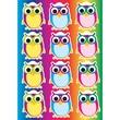 """Ashley 8 1/2"""" x 11"""" Die-Cut Magnet, Color Owls"""