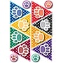 Ashley 8 1/2 x 11 Die-Cut Magnet, Colorful