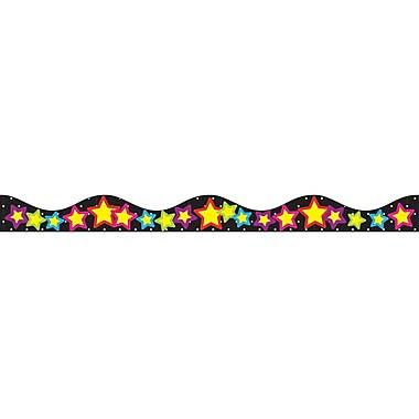 Ashley Kindergarten - 12th Grade Magnetic Border, Stars