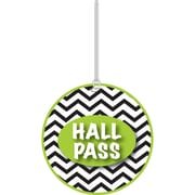 "Ashley 4"" Soft Rubber Chevron Hall Pass"