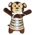 Buckleyboo Buckle and Chime Plush Doll Monkey, Grade Toddler - 3rd