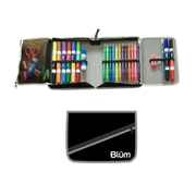 Blumberg Company School Supply Kit, Black Case/Grey Trim, 45/Set