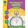 Classroom Complete Press Five Strands of Math Drill WorkSheets Big Activity Book, Grades 3 - 5