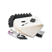 Charles Leonard Dry Erase Lapboard, 12/Pack