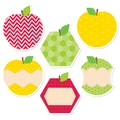 Creative Teaching Press® 6in. Designer Cut-Outs, HexaFunApples