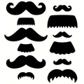 Creative Teaching Press® 6in. Designer Cut-Outs, Mustache Medley