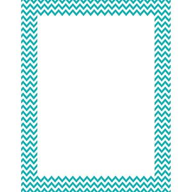 Creative Teaching Press® Turquoise Chevron Poster Chart, Grades All