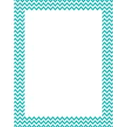 Creative Teaching Press® Turquoise Chevron Poster Chart, Grades All