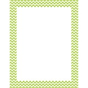 Creative Teaching Press® Lime Green Chevron Poster Chart, Grades All