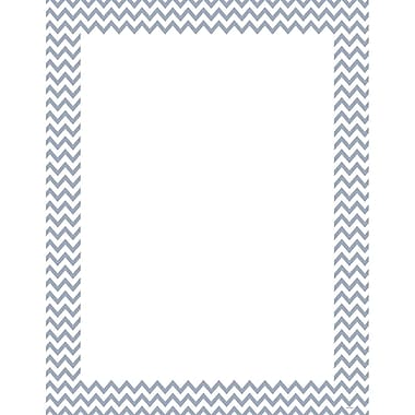 Creative Teaching Press® Slate Gray Chevron Poster Chart, Grades All