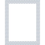 Creative Teaching Press® Slate Gray Chevron Poster Chart, Grades All