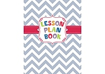 Creative Teaching Press® Lesson Plan Book, Chevron