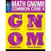 Creative Teaching Press® The Math Gnome & Common Core 4 Resource Book, Grade 4