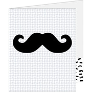 Creative Teaching Press® 2 Pocket Folder, Mustache