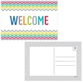 Creative Teaching Press® 4in. x 6in. Welcome Post Card, Chevron