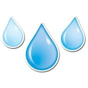 Creative Teaching Press® 6 Designer Cut-Outs, Water Drops