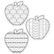 "Creative Teaching Press® 6"" Designer Cut-Outs, Color-Me Apples"