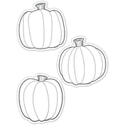 "Creative Teaching Press® 6"" Designer Cut-Outs, Color-Me Pumpkins"