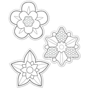 Creative Teaching Press® 6 Designer Cut-Outs, Color-Me Flowers