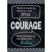 "Creative Teaching Press® 13 3/8"" x 19"" Inspire U Poster, Courage"