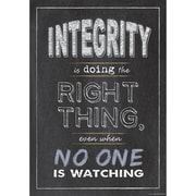 "Creative Teaching Press® 13 3/8"" x 19"" Inspire U Poster, Integrity"