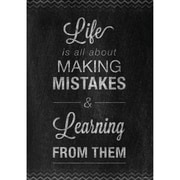 "Creative Teaching Press® 13 3/8"" x 19"" Inspire U Poster, Mistakes"