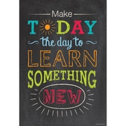 "Creative Teaching Press® 13 3/8"" x 19"" Inspire U Poster, Make Today the Day..."