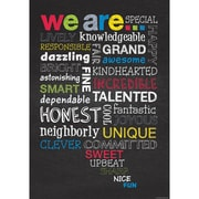 "Creative Teaching Press® 13 3/8"" x 19"" Inspire U Poster, We Are..."